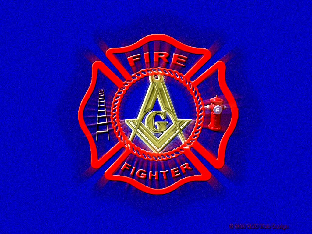 Masonic Fire Fighter Wallpaper